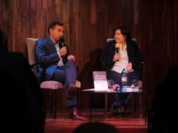 """Graciela Ocaña presentó su libro """"Contra la corrupción"""""""